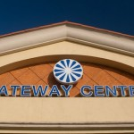 Gateway Center Logo and Sign